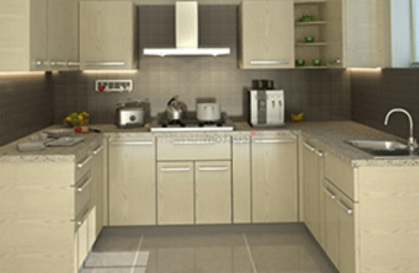 C-shape-Kitchen
